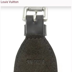 Louis Vuitton Jewelry - Auth LV - Unisex Embossed Logo Leather Bracelet